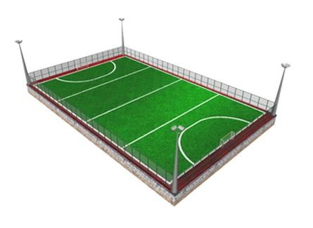 Futbalové ihrisko alebo ihrisko na malý futbal