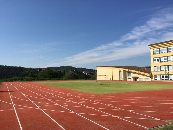 Revitalizace sportovišť s umělým povrchem o rozloze 2000m2