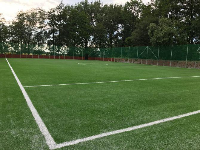 Instalace fotbalové umělé trávy 3. generace