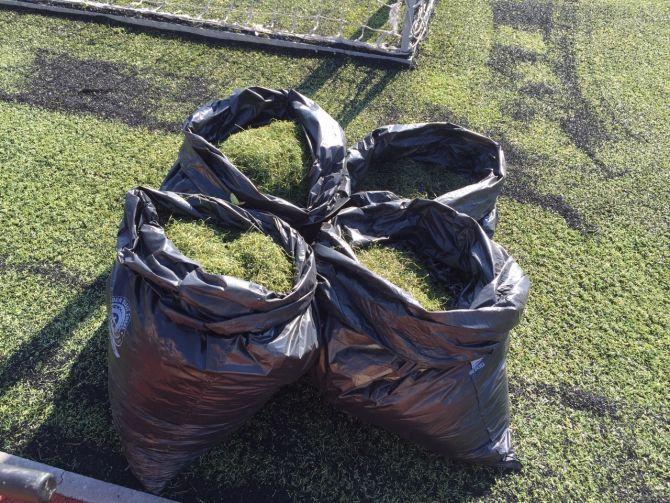 Dlouhodobá profesionální údržba fotbalového hřiště z umělé trávy